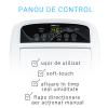 Dezumidificator de aer Turbionaire Smart 16 Eco - 16 l/24h, Garantie 3 ani, Panou de control digital, 130mc/h, Higrostat incorporat, Timer, Auto Restart, Filtru lavabil,  Silentios