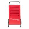 Dezumidificator profesional TURBIONAIRE PRO 90, pana la 95 l/zi, Higrostat electronic, Control digital, Afisare umiditate, Rezervor incorporat 7.5 l, Roti robuste pentru transport facil