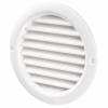 Pachet Promo: Ventilator FRESH Intellivent 2.0 negru + Clapeta antiretur D=125mm + Conector D=125mm + Grila circulara de exterior incastrata D=125mm, Fabricatie Suedia