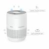 Purificator de aer Turbionaire D20AD, Eficienta 99.97% pana la 0.3 microni si PM 2.5, Filtru multiplu T-Performance cu True HEPA 13 si Carbon Activ, Timer, Avertizare inlocuire filtru, Touch Control