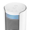 Ventilator turn STADLER FORM PETER, Alb, Mod Natural Breeze, Touch Panel, Timer, Oscilatie automata,  Filtru de aer, 3 trepte de viteza, Telecomanda