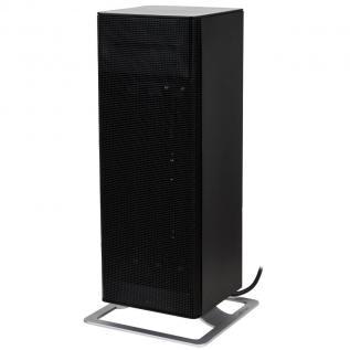 Aeroterma electrica Stadler Form Anna Big negru 2000W, Adaptive Heat, Termostat incorporat, 8 trepte de putere, LED, Silentioasa, Rezistenta Ceramica PTC