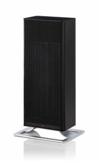 Aeroterma electrica,Rezistenta Ceramica PTC, Stadler Form Anna negru, 2000W, Termostat incorporat, 2 trepte de putere, Oprire automata, Filtru detasabil si lavabil, LED, Silentioasa, 25mp