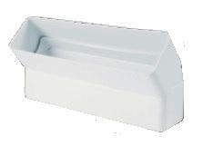 Cot rectangular la 45 din PVC montaj vertical 55x220 mm