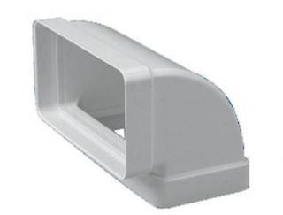 Cot rectangular la 90 din PVC Falmec montaj vertical 70x150 mm