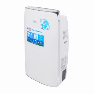 Dezumidificator de aer ARGO PLATINUM EVO 21, Garantie 3 ani, 21litri/zi, IP 21, Display digital, LED, Timer, Auto-diagnosticare, 4 Moduri de functionare, Auto-restart, Silentios