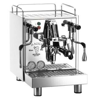 Espressor premium Bezzera Magica S MN, Rezervor 4l, Componente profesionale, Grup de extractie F61, 2 manometre, Schimbator de caldura incorporat HX, Pompa cu vibratii, Fabricat manual in Italia