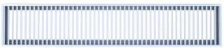 Grila de pardoseala BIALLI 1000X200, culoare alba