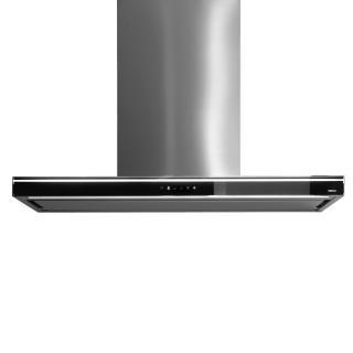 Hota de perete cu sistem NRS FALMEC LUMINA,  Nivel de zgomot maxim 53 dB, L=120 cm, sticla de culoare neagra, 800 mc/h, Garantie 5 ani, Aspiratie perimetrala