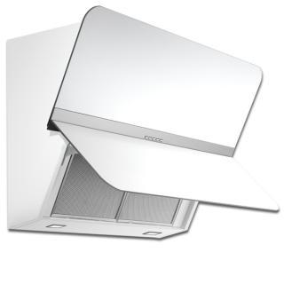 Hota de perete FALMEC FLIPPER NRS, Culoare alb,  L=85 cm, 800mc/h, Garantie 5 ani, Fabricatie Italia