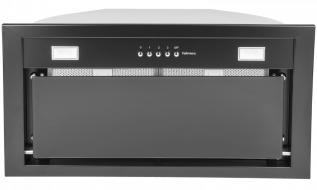 Hota incorporabila Airmec By Falmec MAX BLACK 50, 600 mc/h, Garantie 5 ani, Iluminare LED, Aspiratie perimetrala, Fabricatie Italia