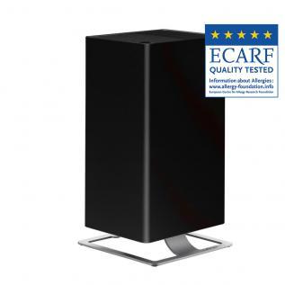 Purificator de aer Stadler Form Viktor negru, Certificare Eficienta ECARF, Timer, LED , Sistem patentat de filtrare HPP, 5 trepte de viteza