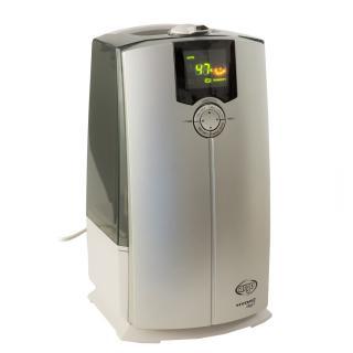 Umidificator cu ultrasunete ARGO HYDRO DIGIT, Panou de comanda digital, Rezervor 4l, Higrostat incorporat, Timer, Ionizare, 370 g/h