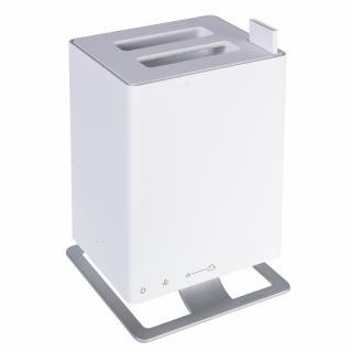 Umidificator si Difuzor de arome cu Ultrasunete Stadler Form Anton Alb, Rezervor 2.5 litri, 170 g/h, Modul antibacterian, Oprire automata