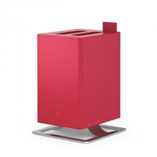 Umidificator si Difuzor de arome Stadler Form Anton Chilli Red, Rezervor 2.5 litri, 170 g/h, Modul antibacterian, Oprire automata