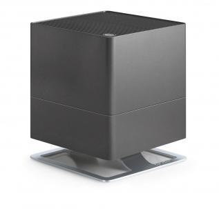 Umidificator si purificator de aer Stadler Form Oskar Titanium, Rezervor 3.5 L, 370 g/h , LED, Modul antibacterian, Oprire automata, Dispozitiv de arome, Higrostat incorporat