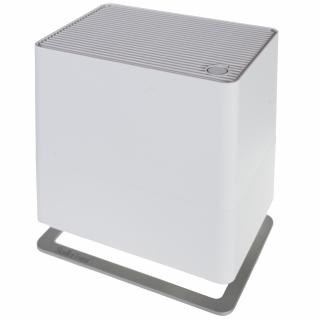 Umidificator si purificator Stadler Form Oskar little alb, Rezervor 2.5 litri, 200g/h, Difuzor arome, LED, Modul antibacterian, Oprire automata
