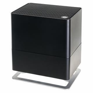 Umidificator si purificator Stadler Form Oskar little negru, Rezervor 2.5 litri, 200 g/h, LED, Modul antibacterian, Oprire automata, Dispozitiv de arome