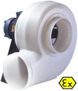 Ventilator centrifugal anticoroziv ELICENT ICA  ATEX 564 T