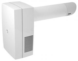 Ventilator cu recuperare de caldura ELICENT AERA SMART 100/400, introducere simultana cu evacuarea aerului, Grosime perete 400mm, Senzor de umiditate, Fabricatie Italia
