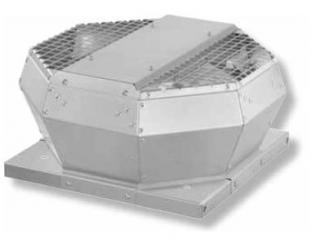 Ventilator de acoperis cu refulare verticala, din metal, Ruck DVA 250 E4 10