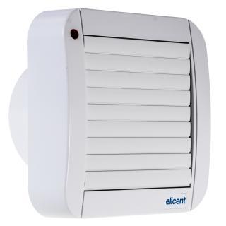 Ventilator de fereastra/perete ELICENT ECOLINE 150 A, Diametru racord 149 mm, Jaluzele automate, Motor long life 30000 h, Fabricatie Italia, Debit 320 mc/h