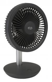 Ventilator portabil cu acumulator, ARGO ORFEO TITANIUM, 4 trepte de viteza, Mod eco, Baterie Litiu reincarcabila