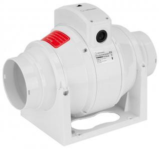 Ventilator Turbionaire CONNECT TC100S de Tubulatura, Garantie 2 ani, Debit 210 mc/h, 2 viteze cu buton de selectare