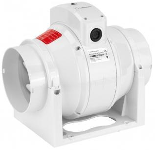 Ventilator Turbionaire CONNECT TC120S de Tubulatura, Garantie 2 ani, Debit 280 mc/h, 2 viteze cu buton de selectare