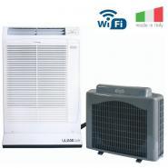 Aer conditionat cu unitate externa mobila, ARGO ULISSE, WIFI, 13000 BTU, nu necesita instalare,  Clasa energetica A, Fabricatie Italia,  Dezumidificare, Autorestart, Tub evacuare si adaptor fereastra incluse,