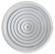 Anemostat circular D=200 mm cu registru de reglaj