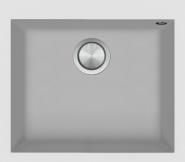 Chiuveta BARAZZA SOUL, material B_Granite, culoare alba, 1LSO61B,  57x50 cm,  1 cuva