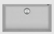 Chiuveta BARAZZA SOUL, material B_Granite, culoare alba, 1LSO81B,  79,5x50,5 cm,  1 cuva