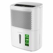 Dezumidificator de aer Turbionaire Smart 12 eco - 12 l/24h, Garantie 3 ani, Panou de control digital , Higrostat incorporat, Timer, Auto Restart, Filtru lavabil,  Silentios
