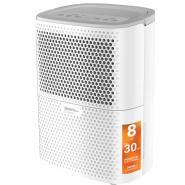 Dezumidificator de aer Turbionaire Smart 8 Eco - 8 l/24h, Garantie 3 ani, Panou de control digital , Ecologic, Higrostat electronic, Timer, Auto Restart, Filtru lavabil, Silentios