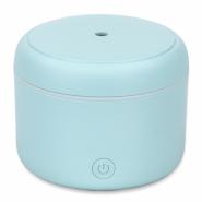 Difuzor de Aroma cu Ultrasunete Turbionaire Puck Aqua, 7 Lumini LED interschimbabile, 5 W, Silentios, Portabil, Posibilitate alimentare USB, Oprire automata