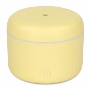 Difuzor de Aroma cu Ultrasunete Turbionaire Puck Lemon, 7 Lumini LED interschimbabile, 5 W, Silentios, Portabil, Posibilitate alimentare USB, Oprire automata