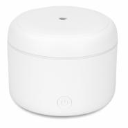 Difuzor de Aroma cu Ultrasunete Turbionaire Puck Snow, 7 Lumini LED interschimbabile, 5 W, Silentios, Portabil, Posibilitate alimentare USB, Oprire automata