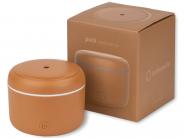 Difuzor de Aroma Turbionaire Puck Caramel, 7 Lumini LED interschimbabile, 5 W, Silentios, Portabil, Posibilitate alimentare USB, Oprire automata