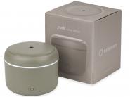 Difuzor de Aroma Turbionaire Puck Stone, 7 Lumini LED interschimbabile, 5 W, Silentios, Portabil, Posibilitate alimentare USB, Oprire automata