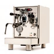 Espressor premium Bezzera BZ07 DE, dozare electronica, grup de extractie incalzit electric, schimbator de caldura incorporat HX, dublu manometru, pompa cu vibratii,  fabricat manual in Italia