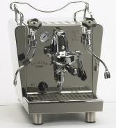 Espressor premium Bezzera Galatea Domus R MN, conectare direct la reteaua de apa, componente profesionale, grup de extractie F61, 2 manometre, pompa cu rotatii, fabricat manual in Italia