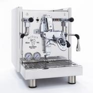 Espressor premium BEZZERA MITICA TOP MN PID LED, alimentare de la retea si rezervor 4l, pompa cu rotatii, presostat profesional, control temperatura apa in boiler, fabricat manual in Italia
