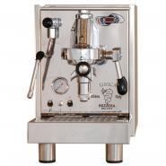 Espressor premium Bezzera Unica PID MN, Componente profesionale, Grup de extractie F61, Manometru, Pompa cu vibratii, Rezervor 3l, Control temperatura apa in boiler, Fabricat manual in Italia