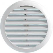 Grila circulara de exterior din ABS cu cleme de prindere pentru racorduri cu diametrul D=220-260mm