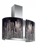 Hota de perete FALMEC MANHATTAN LED L=67 cm, 800 mc/h, Aspiratie perimetrala, Garantie 5 ani, Fabricatie Italia