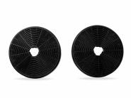 Kit filtre de carbon Turbionaire TCF 1  pentru Turbionaire Amira 50, Selena 50, Luna 50, Carbon Activ, Retine mirosurile provenite din gatit