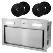 Pachet Turbionaire Pro,  Hota incorporabila Amira 50, 2 Kit filtre de carbon Turbionaire TCF 1