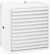 Ventilator de fereastra sau perete ELICENT VITRO 15 reversibil, Jaluzele automate, Motor long life, Debit de aspiratie 300 mc/h,  Fabricatie Italia