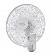 Ventilator de perete ARGO LOTUS, 50W, Display LED, Timer, Telecomanda, 3 trepte de viteza, 3 moduri de functionare, Panou de comanda digital, Oscilatie, Diametru 40 cm, Modul Sleep, Finisaj Alb, Eco